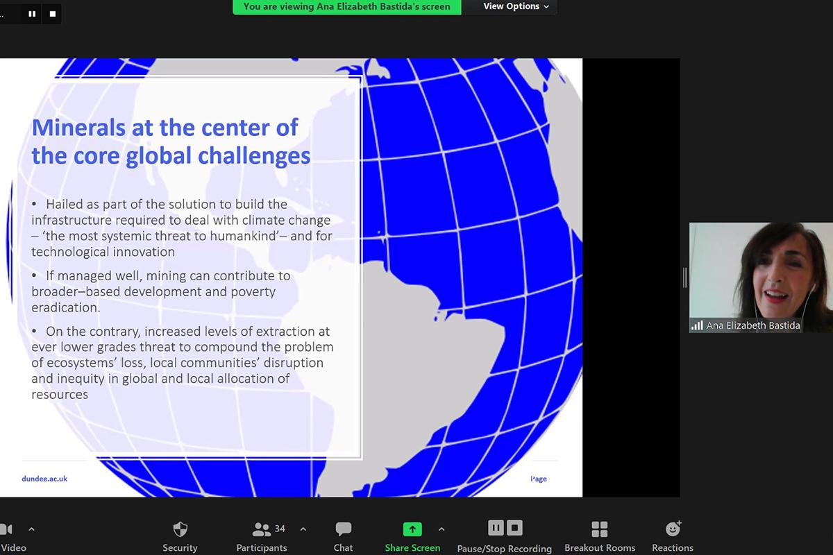 Regulatory conference screenshot
